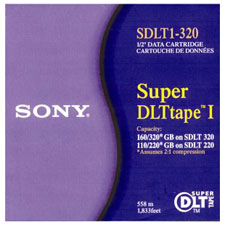 Sony – SDLT1-320 – SDLT Tapes